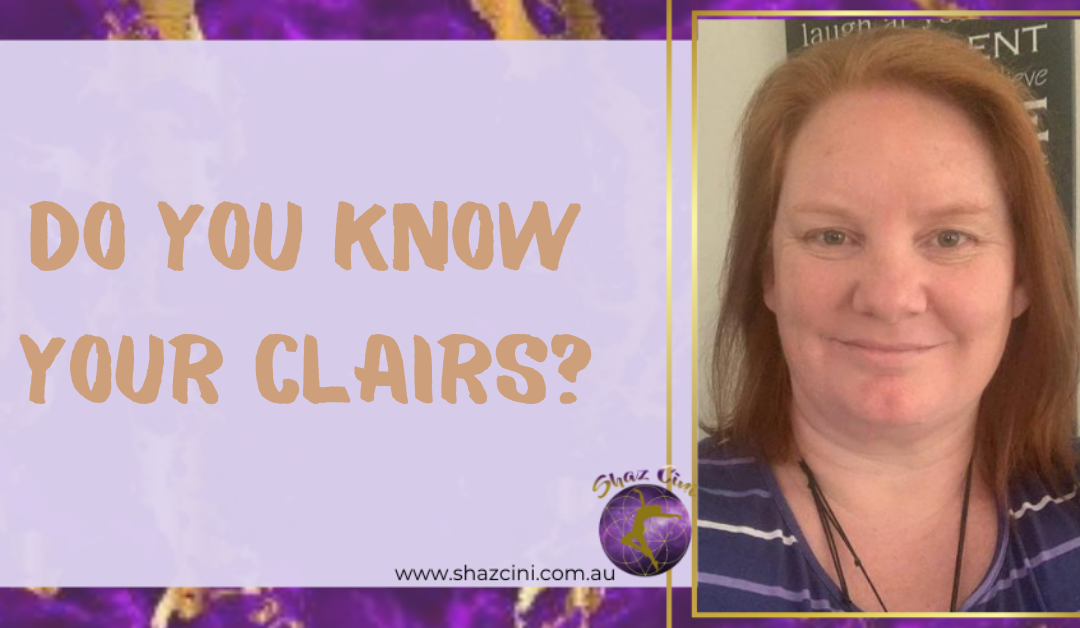 Know your clairs