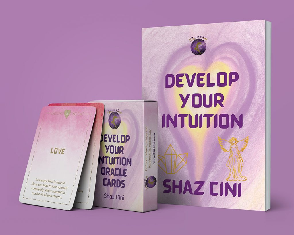 Develop Your Intuition Oralce Cards and Journal